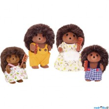 Sylvanian Families - Rodina ježčí, 4ks