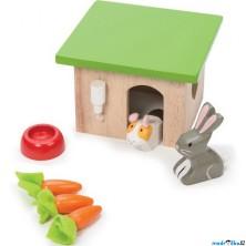 Nábytek pro panenky - Set pro morče a králíka (Le Toy Van)
