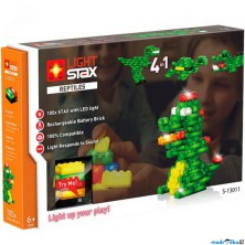 Light Stax - Reptiles V2, 105 svítících kostek