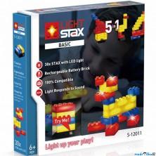 Light Stax - Basic V2, 30 svítících kostek