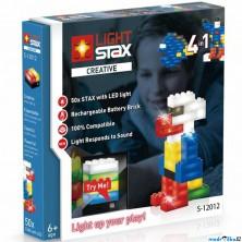 Light Stax - Creative V2, 50 svítících kostek