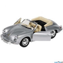 WELLY kovový model - Auto Porsche 356B Cabriolet, 1:24