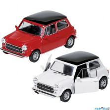 WELLY kovový model - Auto Mini Cooper 1300, 1:38, 1ks