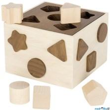 Vhazovačka - Vkládací krabička, Eko Nature (Goki)