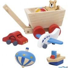 Nábytek pro panenky - Doplňky do dětského pokoje (Goki)