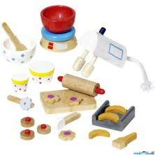 Nábytek pro panenky - Doplňky na pečení (Goki)