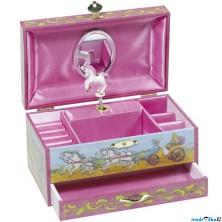 Šperkovnice - Hrací skříňka, Princezna a jednorožec (Goki)
