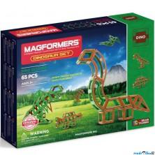 Magformers - Dinosauři, 65 ks