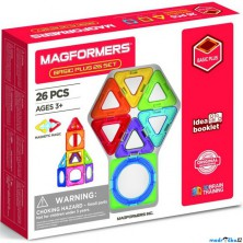 Magformers - Basic Plus, 26 ks
