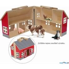 Farma dřevěná - Farma červená v kufříku (Woody)