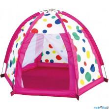 Dětský domeček - Stan barevné kuličky (Bino)