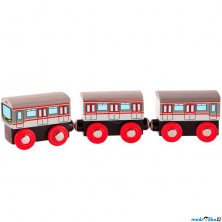 Vláčkodráha vláčky - Metro vlak (Woody)