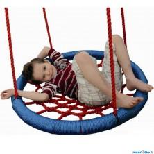 Houpačka - Houpací kruh, modrý, průměr 85cm (Woody)
