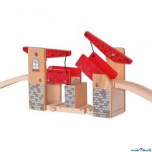 Vláčkodráha mosty - Most zvedací s nadjezdy (Woody)