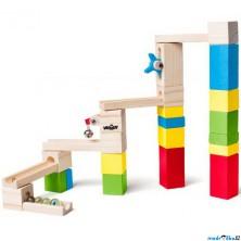 Kuličková dráha - Dřevěná, 26 dílů (Woody)