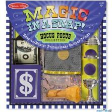 Malý kouzelník - Kouzelnická sada Hokus Pokus (M&D)