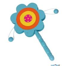 Hudba - Bubínek s rukojetí, Květina modrá (Legler)