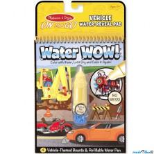 Omalovánky - Kouzlení vodou, Dopravní prostředky (M&D)