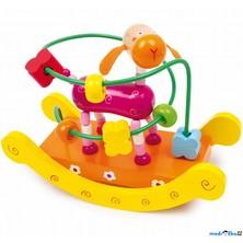 Motorický labyrint drátěný střední - Kolébka žirafa (Legler)