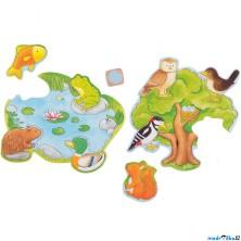 Společenská hra - Kostková hra Kdo kde bydlí (Goki)