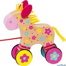 Tahací hračka - Koník Clara Susibelle (Goki)