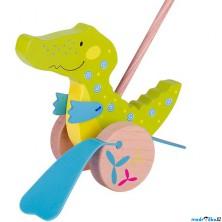 Jezdík na tyči - Plácačka, Krokodýl Susibelle (Goki)
