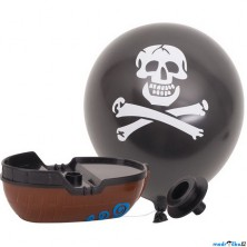 Hračka do vody - Pirátská loďka na balónkový pohon (Goki)