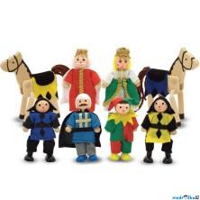 Panenky do domečku - Knížecí rodina, 8ks (M&D)