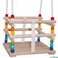 Houpačka - Pro nejmenší dřevěná (Woody)