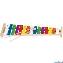 Hudba - Xylofon 15 tónů, Kovový (Goki)