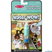 Omalovánky - Kouzlení vodou, Povolání (M&D)