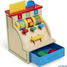 Prodejna - Dětská pokladna stolní dřevěná (M&D)