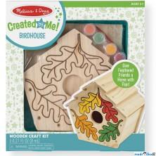 Kreativní sada - Vyrob si ptačí budku (M&D)