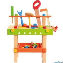 Malý kutil - Pracovní stůl s nářadím (Bino)