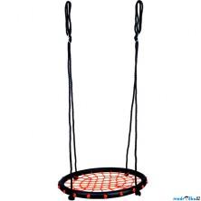 Houpačka - Houpací kruh, černý, průměr 60cm (Bino)