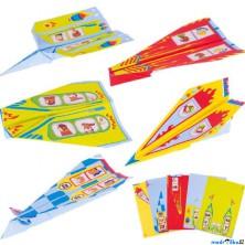 Kreativní sada - Vlaštovky z papíru, 10ks (Goki)