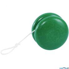 Drobné hračky - Jojo dřevěné, zelené (Goki)