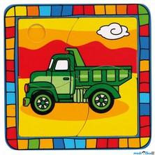 Puzzle pro nejmenší - Na desce, Náklaďák (Bino)