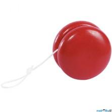 Drobné hračky - Jojo dřevěné, červené (Goki)