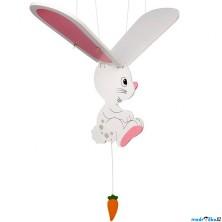 Závěsná hračka - Zajíček bílý (Goki)