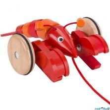 Tahací hračka - Humr červený (Goki)