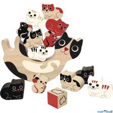 Motorická hra - Balancující kočičky (Vilac)