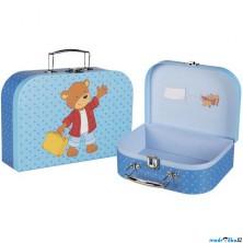 Kufřík dětský - Set 2 kufříků, Medvídek (Goki)