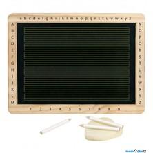 Psací tabule - Tabulka pro výuku psaní, 30x22cm (Goki)