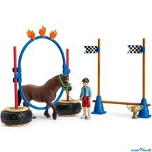Schleich - Jezdecký klub, Závod v agility pro poníky