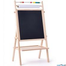Kreslící tabule - Magnetická s rolí papíru (Woody)