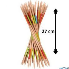 Společenská hra - Mikádo dřevěné, 27cm (Goki)