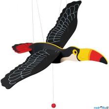 Závěsná hračka - Tukan dřevěný (Goki)