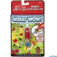 Omalovánky - Kouzlení vodou, Sporty (M&D)