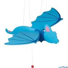Závěsná hračka - Modrý netopýr (Goki)